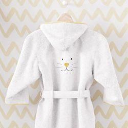 Roupão Amiguinho Coelhinho Amarelo
