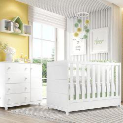 Quarto de Bebê Premier com Berço/Cômoda 1 Porta