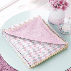 Cobertor Estampa Triângulo