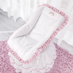 Capa para Bebê Conforto Arco-Íris