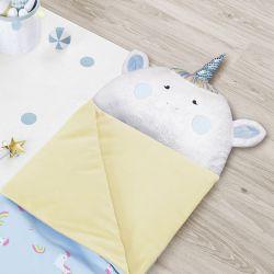 Saco de Dormir Infantil Amiguinhos Unicórnio 1,60m