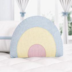 Almofada Formato Arco-Íris Azul 25cm