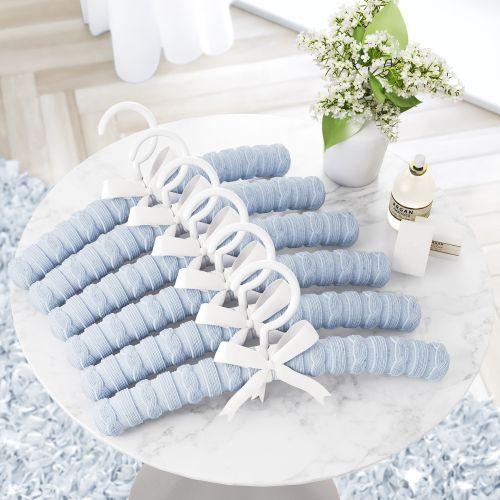 Kit Cabides Tricot Luxo Azul
