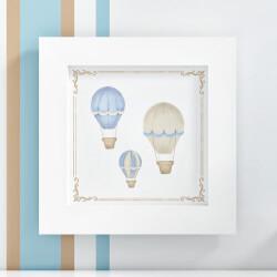 Quadro Balões Azul 20cm