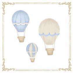 Quadro Balões Azul