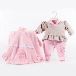 Saída Maternidade Plush Love Rosa