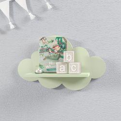 Prateleira Nuvem Verde P