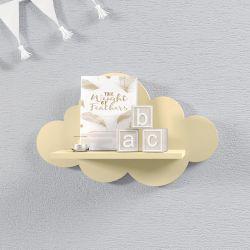 Prateleira Nuvem Amarelo Bebê P