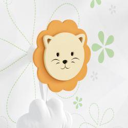 Cabideiro de Parede Leão