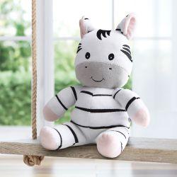 Bichinho de Pelúcia Amiguinhos Safári Zebra 45cm