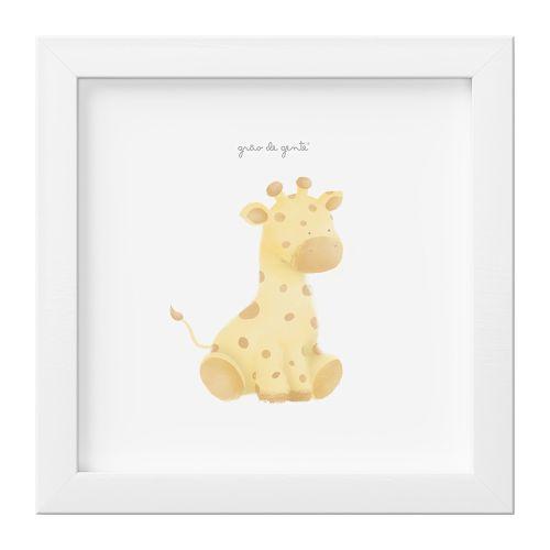 Quadro Amiguinha Girafa
