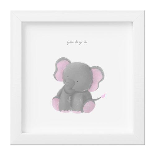 Quadro Amiguinho Elefante