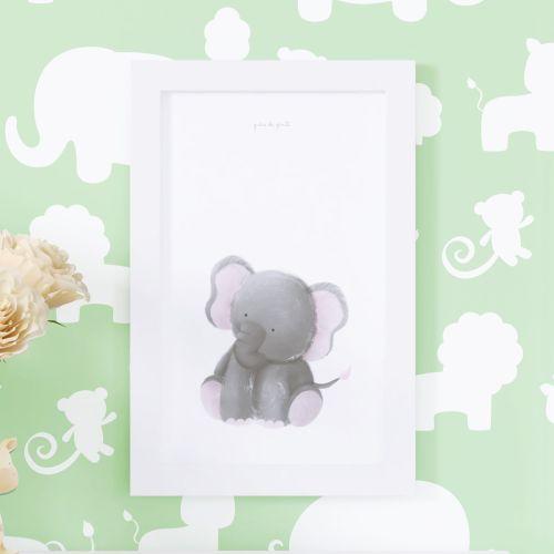Quadro Amiguinho Elefante 25cm