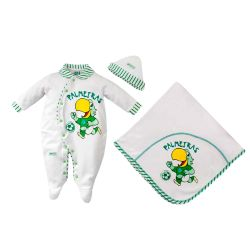 Saída Maternidade Suedine Oficial Palmeiras Mascote