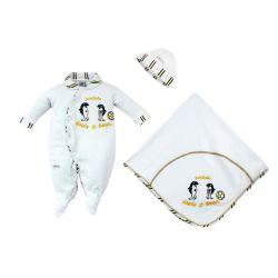 Saída Maternidade Suedine Oficial Santos Mascote