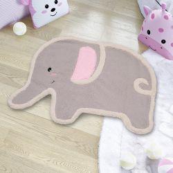Tapete Amiguinha Elefante 90cm