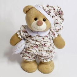 Ursa Amore Pijama Floral 20cm
