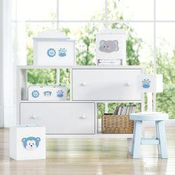 Kit Higiene Amiguinhos Safári Azul