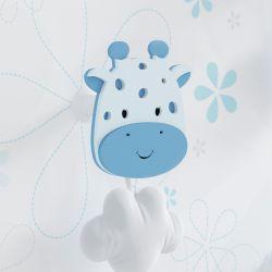 Cabideiro de Parede Girafa Azul