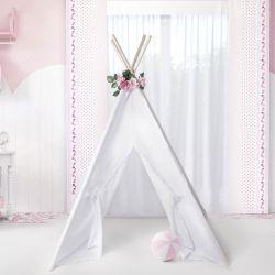 Cabana Quarto de Bebê Pompom e Flores