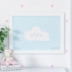 Quadro Nuvem 48cm