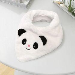 Babador Bandana Pelúcia Urso Panda