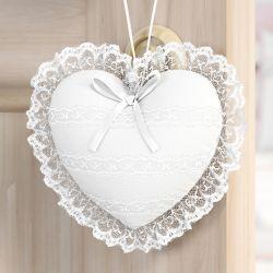 Lembrancinha Maternidade Mon Petit Coração Branco Clássico