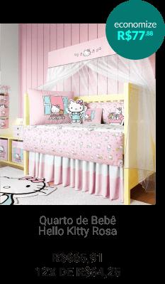 Quarto de Bebê Hello Kitty