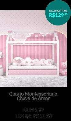 Quarto Montessoriano Safári Aquarela