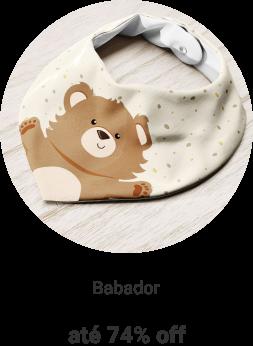Babador a partir de R$10,99