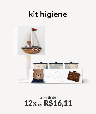 Kit Higiene a partir de 12x de R$16,11