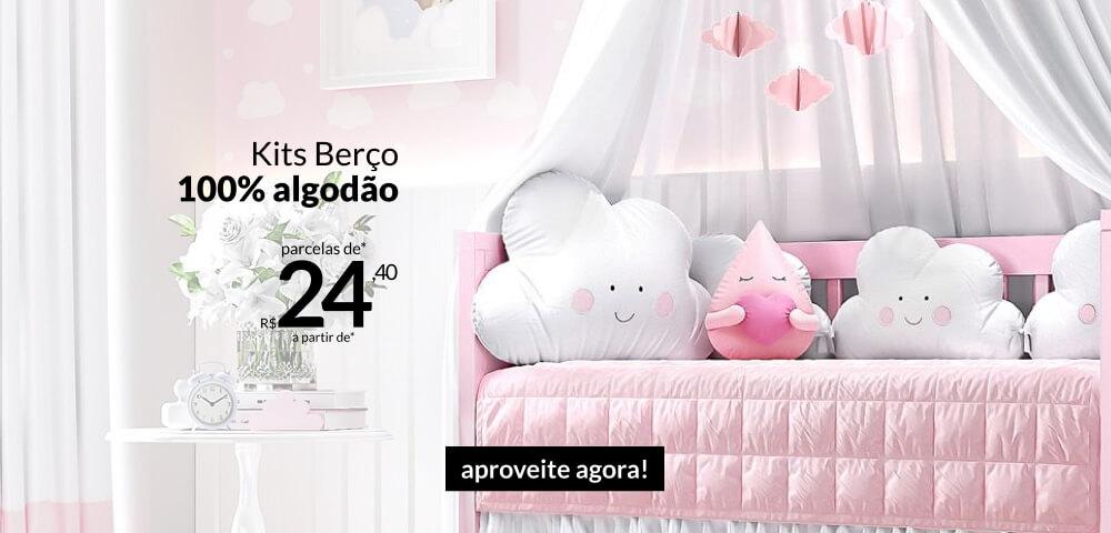 Kits Berço 100% Algodão