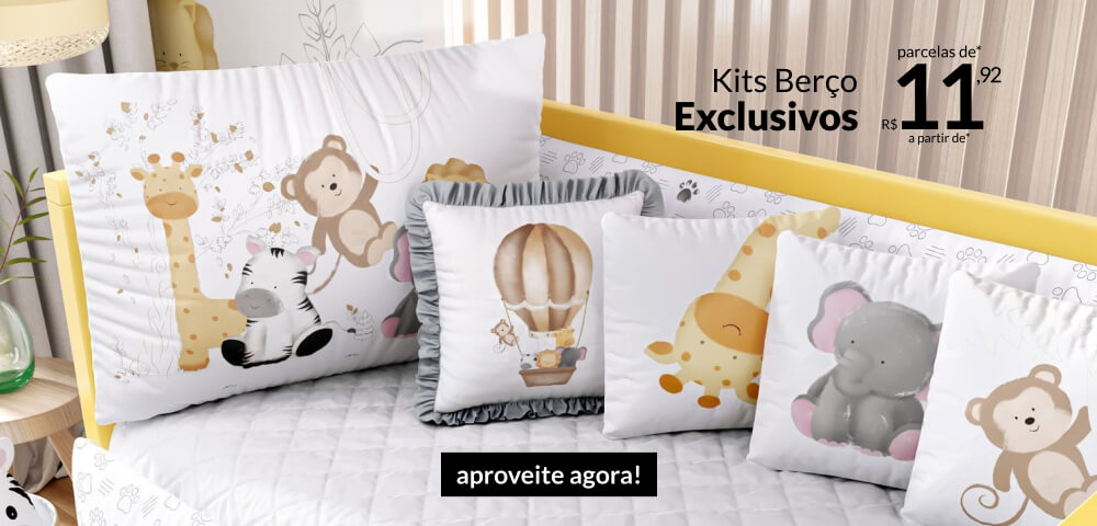 Kits Berço Exclusivos