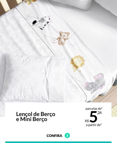 lençol-mini-berco Grão de Gente
