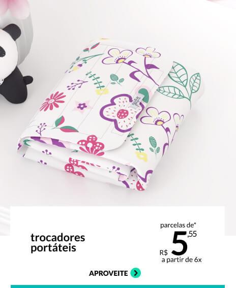 Novidade exclusiva: Trocadores portáteis - parcelas a partir de R$ 49,99