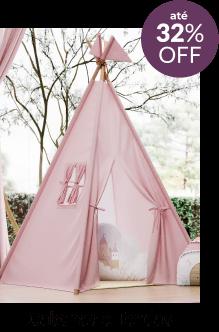 Cabanas e tendas até 32% off