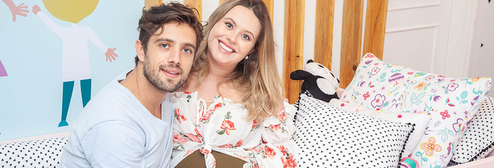 Rafael Cardoso e Mari Bridi: muito amor pelo cantinho da Princesa Aurora