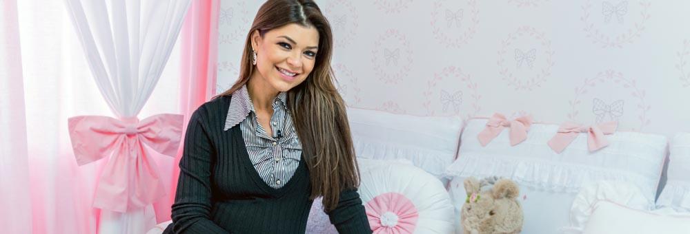 Amanda Françozo escolhe Princesa Clássica para quarto de Vitória