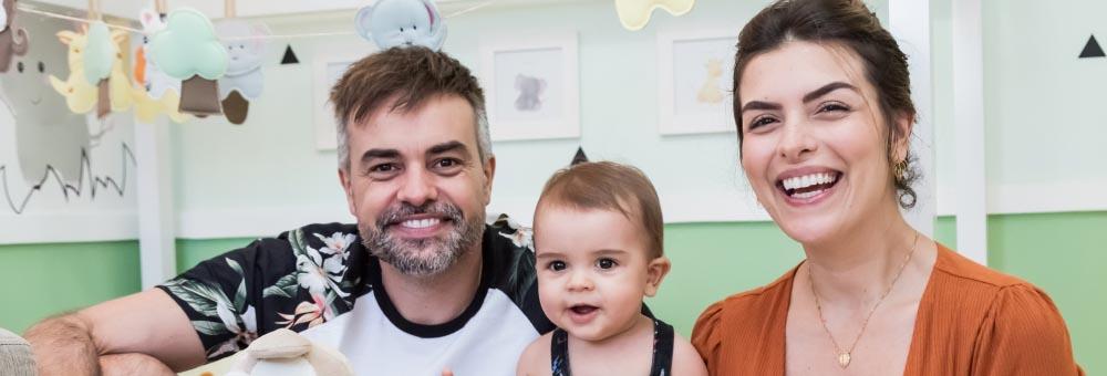 Márcio Kieling escolhe Quarto Montessoriano Amiguinhos Safári para Lucas