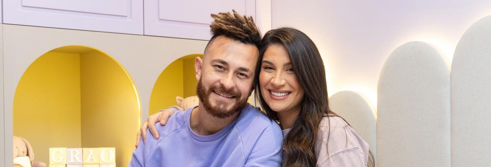 Bianca Andrade e Fred revelam detalhes do quarto que escolheram para Cris